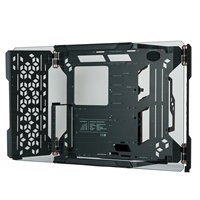 Cooler Master MasterFrame 700 Open-Frame Full Tower 1 x USB 3.2 Gen 2 Type-C / 2 x USB 3.1 Gen 2 Type-A Panoramic Tempered Glass Front Window Panel Black Case