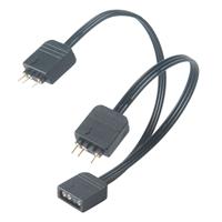Akasa 1-to-2 Addressable RGB LED Splitter Cable
