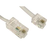 RJ11 (M) to RJ45 (M) 3m White OEM Cable