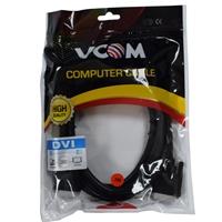 VCOM DVI-D (M) to DVI-D (M) 3m Black Retail Packaged Display Cable