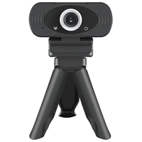 Xiaomi IMILAB Full HD 1080P Webcam Black with Monitor Clip and Tripod