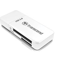 Transcend SD/MicroSD USB 3.0 Card Reader White