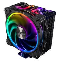 Akasa Soho H4 Universal Socket 120mm PWM 2000RPM Addressable RGB LED Fan CPU Cooler