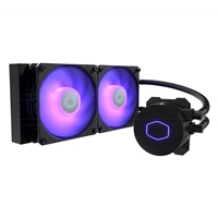 Cooler Master MasterLiquid ML240L V2 RGB Universal Socket 240mm PWM 1800RPM RGB LED AiO Liquid CPU Cooler