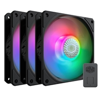 Cooler Master SickleFlow 120 ARGB Addressable RGB 3 Fan Pack with ARGB Controller