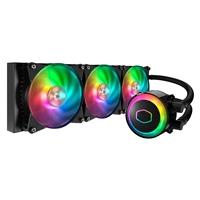 Cooler Master MasterLiquid ML360R RGB Universal Socket 360mm PWM 2000RPM ARGB LED AiO Liquid CPU Cooler with Wired ARGB Controller