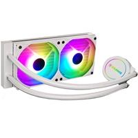 Xilence Performance A+ Series LiQuRizer LQ240 White ARGB Universal Socket 240mm 1500RPM Addressable RGB LED AiO Liquid CPU Cooler
