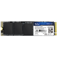 NETAC NV2000 (NT01NV2000-512-E4X) 512GB NVMe M.2 Interface, PCIe x3, 2280 Length, Read 2500MB/s, Write 1900MB/s, 5 Year Warranty