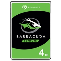 "Seagate BarraCuda ST4000DM004 4TB 3.5"" 5400RPM 256MB Cache SATA III Internal Hard Drive"