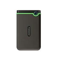 """Transcend 1TB Slim StoreJet 2.5"""" M3S Shock Resistant Portable HDD"""
