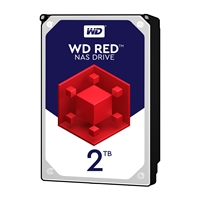 "WD Red WD20EFAX NAS 2TB 3.5"" 5400RPM 256MB Cache Sata III Internal Hard Drive"