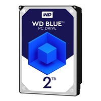 "WD Blue WD20EZAZ 2TB 3.5"" 5400RPM 256MB Cache SATA III Internal Hard Drive"