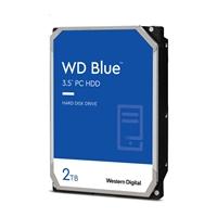 """WD Blue WD20EZBX 2TB 3.5"""" 7200RPM 256MB Cache SATA III Internal Hard Drive"""