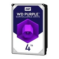 """WD Purple WD40PURZ 4TB 3.5"""" 5400RPM 64MB Cache SATA III Surveillance Internal Hard Drive"""