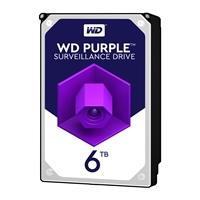 """WD Purple WD60PURZ 6TB 3.5"""" 5400RPM 64MB Cache SATA III Surveillance Internal Hard Drive"""