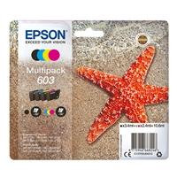 Epson Starfish 603 Original 4 Multipack Replacement Ink