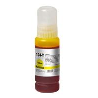 InkLab 104 Epson Compatible EcoTank Yellow ink bottle