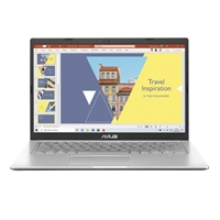 Asus R465JA-EK399TS Laptop, 14 inch Full HD 1080p Screen, Core i3-1005G1 10th Gen, 4GB RAM, 128GB SSD, Windows 10 S, Transparent silver