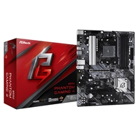ASRock B550 Phantom Gaming 4 AMD Socket AM4 ATX HDMI M.2 USB 3.2 Gen1 Motherboard