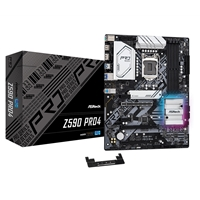 ASRock Z590 Pro4 Intel Socket 1200 ATX HDMI/Displayport USB 3.2 Type-C RGB Motherboard