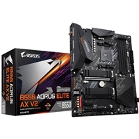 Gigabyte B550 AORUS ELITE AX V2 AMD Socket AM4 ATX HDMI/DIsplayPort WiFi 6 M.2 RGB USB 3.2 Type-C Motherboard