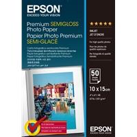 Epson 251gsm 10x15cm Premium Semi Glossy Photo Paper 50 Sheets