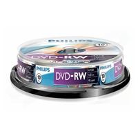 Philips DVD-RW 4X 10PK Spindle