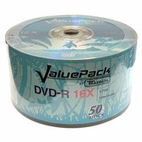 Ritek Traxdata Dvd-r 16x 600pk (12 X 50) Boxed Logo Dvd-r-trax-value-16-50 - Tgt01