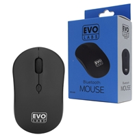 Evo Labs BTM-001 Bluetooth Matte Black Mouse