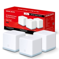 Mercusys Halo S12 (3 Pack) Wireless AC1200 Dual Band Whole Home Mesh Wi-Fi System