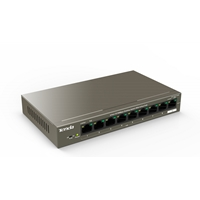 Tenda TEF1109P-8-102W 9-Port Fast Ethernet Unmanaged Switch With 8-Port PoE