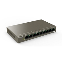Tenda TEF1109P-8-63W 9-Port 10/100Mbps Desktop Switch With 8-Port PoE