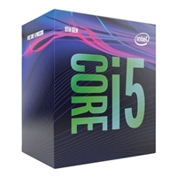 Intel Core i5-9400 6 Core Desktop Processor 6 Threads, 2.9GHz up to 4.1GHz Turbo, Coffee Lake Refresh Socket LGA1151 9MB Cache, 65w, Cooler