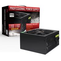 Evo Labs E-500BL 500W 120mm Black Silent Fan PSU