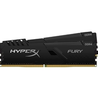 Kingston HyperX Fury 32GB Black Heatsink (2x16GB) DDR4 3600MHz DIMM System Memory
