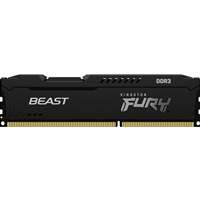 Kingston FURY Beast 8GB 1600MHz DDR3 DIMM Black System Memory