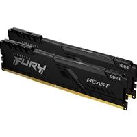 Kingston 32GB 2666MHz DDR4 CL16 DIMM (Kit of 2) 1Gx8 FURY Beast Black