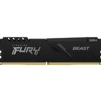 Kingston FURY Beast 8GB 3600MHz DDR4 DIMM System Memory Black Heatsink