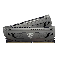 Patriot Viper Steel Series DDR4 16GB (2 x 8GB) 3600MHz Kit w/Gunmetal Grey heatshield