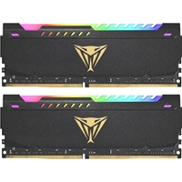 Patriot Viper Steel RGB 32GB Black Heatsink (2 x 16GB) DDR4 3200MHz DIMM System Memory