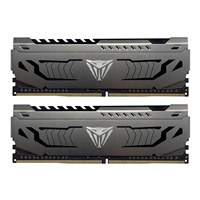 Patriot Viper Steel Series DDR4 32GB (2 x 16GB) 3000MHz Kit w/Gunmetal Grey heatshield