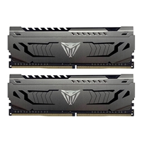 Patriot Viper Steel Series DDR4 32GB (2 x 16GB) 3600MHz Kit w/Gunmetal Grey heatshield