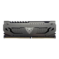 Patriot Viper Steel Series DDR4 8GB (1 x 8GB) 3000MHz Single module w/Gunmetal Grey heatshield