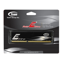 Team Elite 4GB Black Heatsink (1 x 4GB) DDR3 1333MHz DIMM System Memory