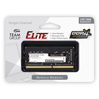 Team Elite 4GB No Heatsink (1 x 4GB) DDR4 2666MHz SODIMM System Memory
