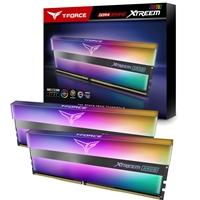 Team T-Force XTREEM ARGB 16GB Black Heatsink with ARGB LEDs (2 x 8GB) DDR4 3600MHz DIMM System Memory