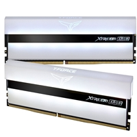 Team T-Force XTREEM ARGB 16GB White Heatsink with ARGB LEDs (2 x 8GB) DDR4 3200MHz DIMM System Memory