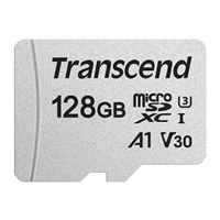 Transcend 128GB Micro SDXC Class 10 UHS-I U3 A1 Flash Card