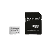 Transcend 256GB UHS-I U3A1 microSD with Adapter Flash Card