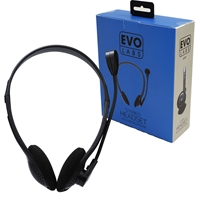 Evo Labs HP01 2x 3.5mm Headset with Mic